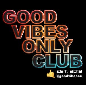 Good vibes only club logo